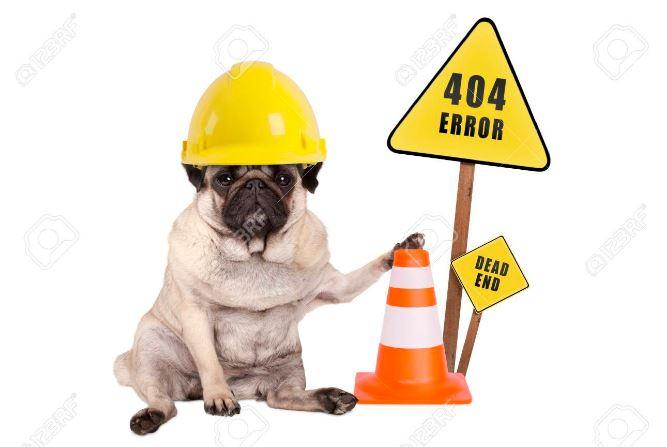 Error 404 Oh No